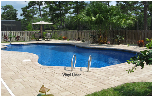 Wagner vinyl liner pool by Parker Pools